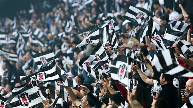 Beşiktaş taraftarı mesaiye başladı