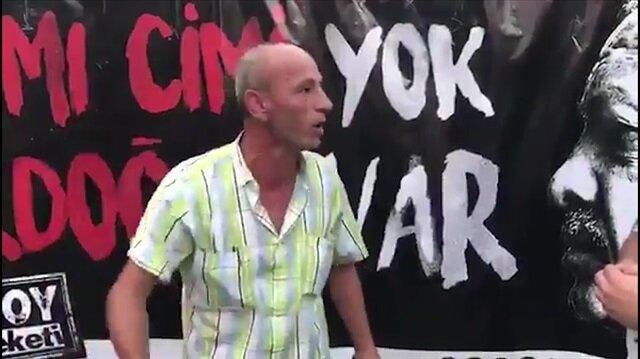 İzmirli vatandaş: Atatürk yaşasaydı Erdoğan'ın alnından öperdi
