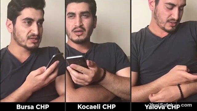 CHP'yi telefonda işletip taşıma mitingi deşifre etti