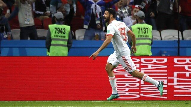 Diego Costa <br>'3'lük attı!