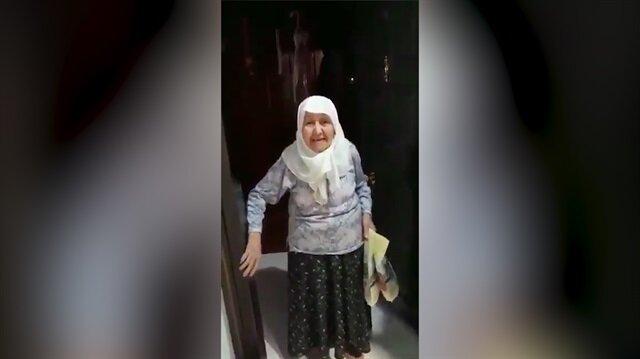 90 yaşındaki teyzeden Tayyip Erdoğan'a dua