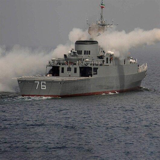 İran savaş gemisi gönderdi