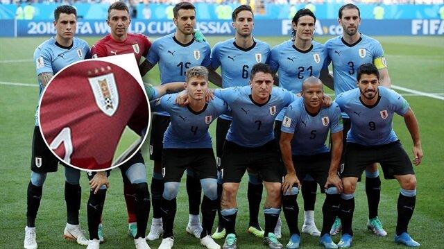 Uruguay'ın formasındaki '4' yıldızın hikayesi