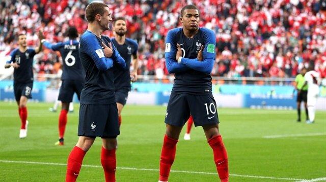 Fransa bir üst turda!