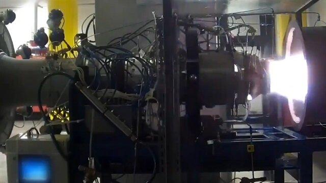 İşte Türkiye'nin ilk turbojet motoru