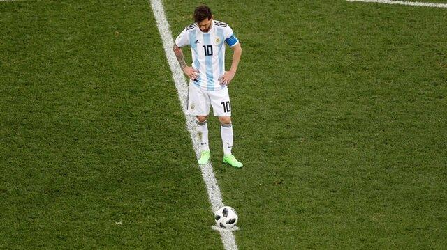Arjantin-Hırvatistan: 0-3