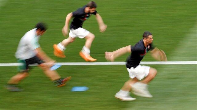 Dünya Kupası'nın en hızlı futbolcusu Cristiano Ronaldo