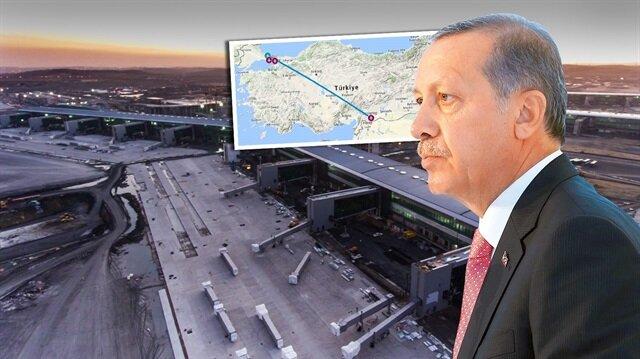 Erdoğan'ı bekliyor