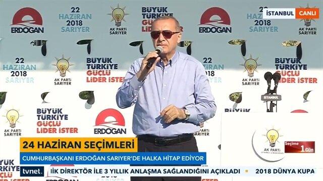 Cumhurbaşkanı Erdoğan: Bunlar çırak bile değil