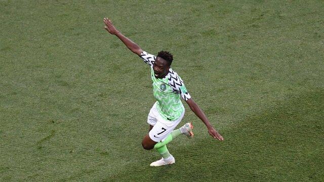 Nijerya 'Musa'yla kazandı