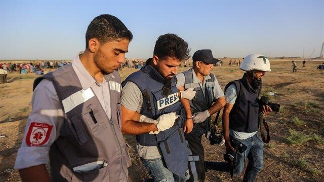 İşgalci İsrail güçleri Gazze'de 89 Filistinliyi yaraladı
