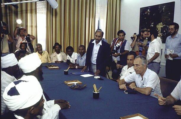 Falaşa temsilcileri, 1996 yılındaki