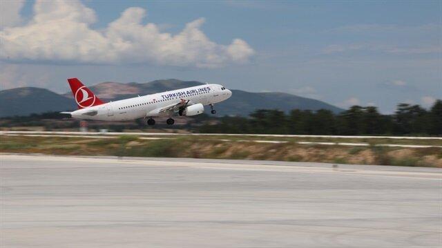 54 yıl kapalı kalan havalimanından 422 bin yolcu taşındı