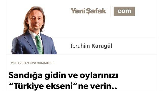 """Sandığa gidin ve oylarınızı """"Türkiye ekseni""""ne verin.. Vatanın, yüzyılın çağrısı bu!"""