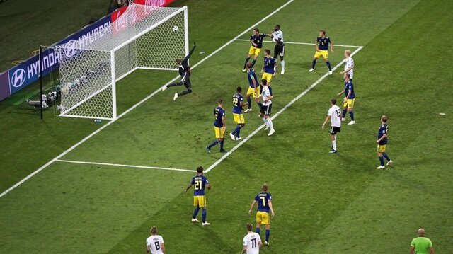Almanya-İsveç: 2-1