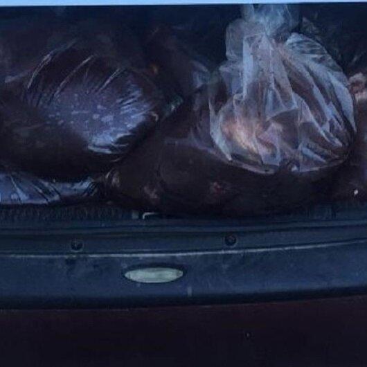 Elazığ'da ele geçirildi: Tam 500 kilo