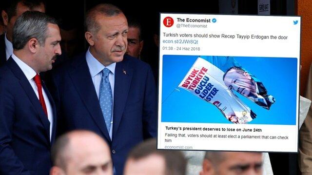 The Economist'i yine panik sardı: Türkler Erdoğan'a kapıyı göstermeli