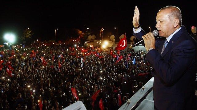 Gazze'deki Filistinliler Erdoğan'ın başarısından memnun