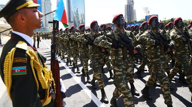 Azerbaycan Ordusunun 100 Kuruluş Yıl dönümü türk askeri ile ilgili görsel sonucu