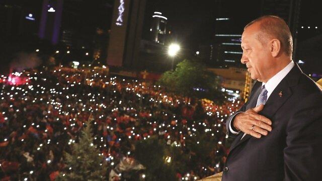 Rakiplerine büyük fark atan Erdoğan, 63 ilde birinci oldu