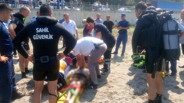 Hastaneye kaldırılan Mesut Yılmaz, tüm müdahalelere rağmen kurtarılamadı.
