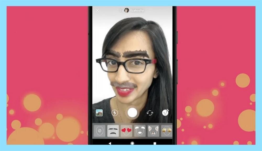 Özel filtre seçenekleri sayesinde yüzünüzü istediğiniz araçlarla özelleştirebilirsiniz.