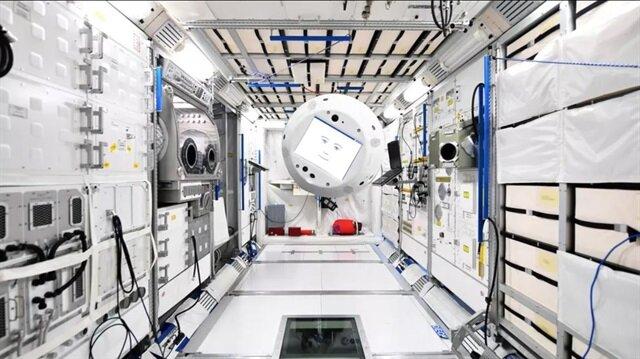 ISS'de görev alacak olan CIMON bu şekilde görünüyor.