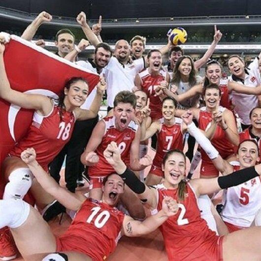 سيدات تركيا يتأهلن لنهائي بطولة العالم لكرة الطائرة بالصين