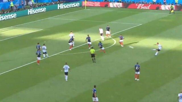 Di Maria'dan muhteşem gol