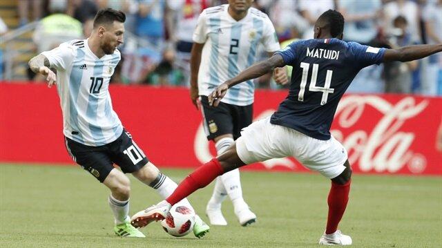 Nefes kesen maçta Fransa Arjantini eledi