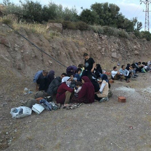 Kırklareli'nde 27 kaçak ve sığınmacı yakalandı