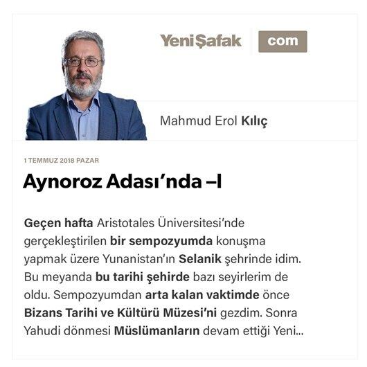 Aynoroz Adası'nda -I