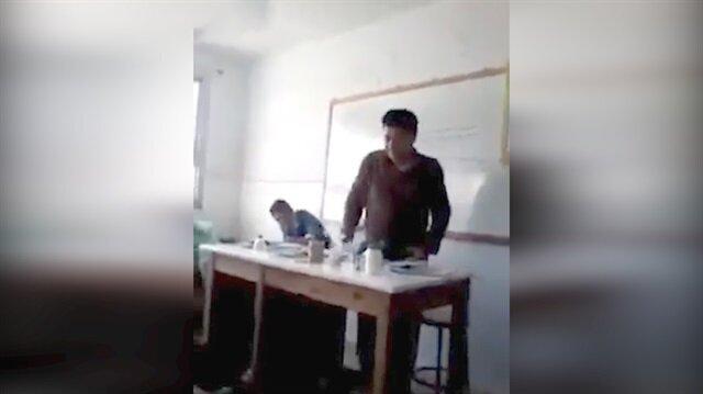 Sınıfta kimya deneyi faciayla bitti!