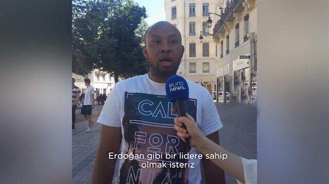 Bu röportaj Fransa'nın Lyon kentinde yapıldı!