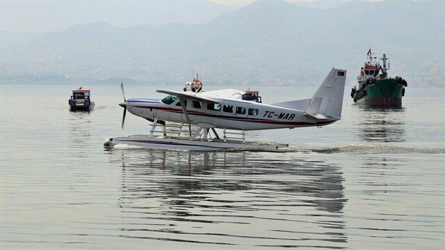 Yeni deniz uçağı, son 5 ayda 200 saatlik uçuş gerçekleştirdi.