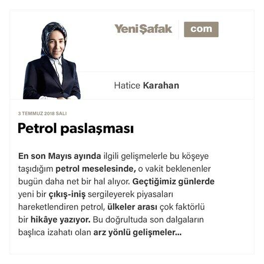 Petrol paslaşması-Petrol paslaşması-03.07.2018