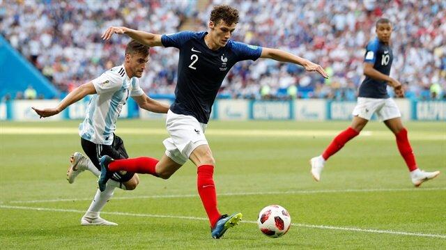 Benjamin Pavard, turnuvada Fransa'nın en dikkat çeken isimlerinden oldu.