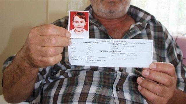 9 yıl önce 9 yaşındayken kaybolan Yusuf Kazdal'dan hala haber yok.