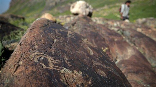 Cilo Dağı'ndaki kaya resimleri araştırılacak.