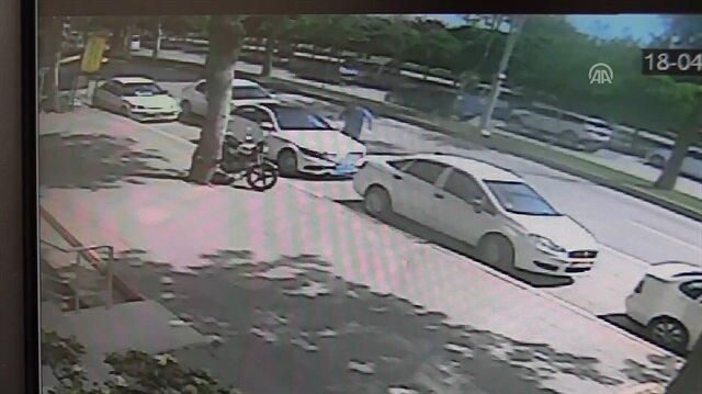 Adana'da iş adamının öldürülme anı kamerada