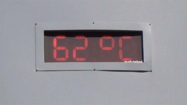 Termometreler 62 dereceyi gösterdi, serinlemek için havuzlarda kuyruklar oluştu.