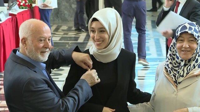 AK Parti'nin en genç milletvekili kayıt yaptırdı