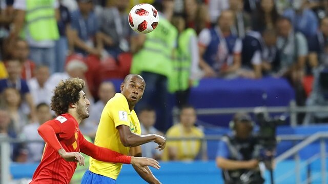 Breziyla 1-2 Belçika (Geniş özet ve goller)
