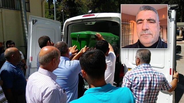 Eski MHP Gaziantep İl Başkanı Mehmet Altınbaş'ın naaşı hastane morguna kaldırıldı.