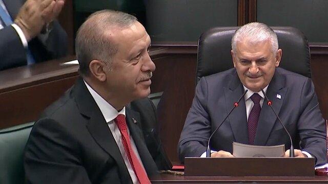 Son başbakan Yıldırım böyle helallik istedi