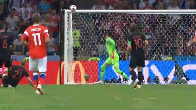Cheryshev'den Hırvatistan'a müthiş gol