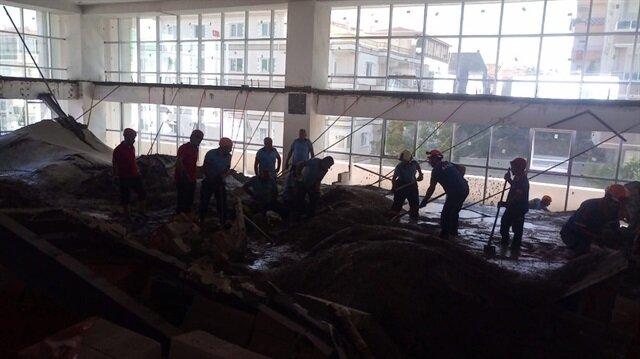 Ankara'da okul inşaatında kaza: 3 işçi öldü