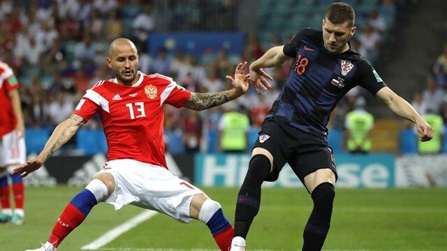 Tarihi çeyrek finalde zafer Hırvatistan'ın