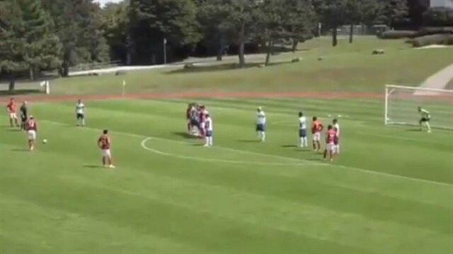 Talisca Çin'de ilk golünü frikikten attı