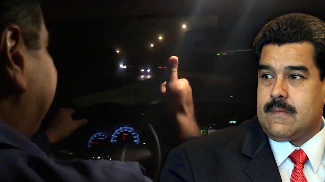 Madurodan Ankara yolculuğunda videolu mesaj